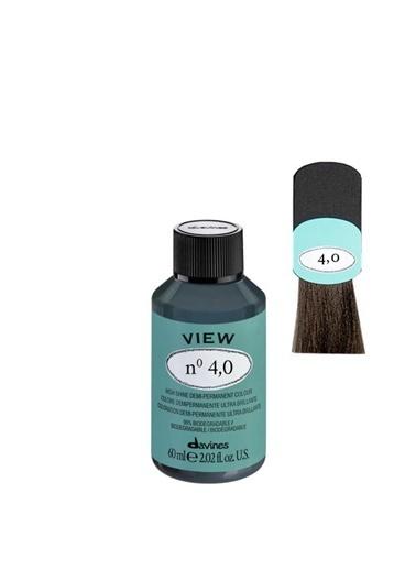 Davines Davines View Yarı Kalıcı Saç Boyası 4,0 Yogun Kahve 60 Ml Renksiz